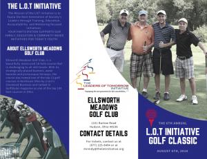 6th Annual Golf Classic brochure