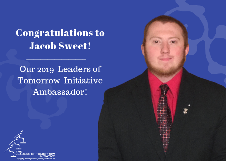 Jacob Sweet 2019 LOT Initiative Ambassador